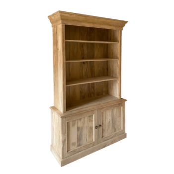 Bookcase in natural wood