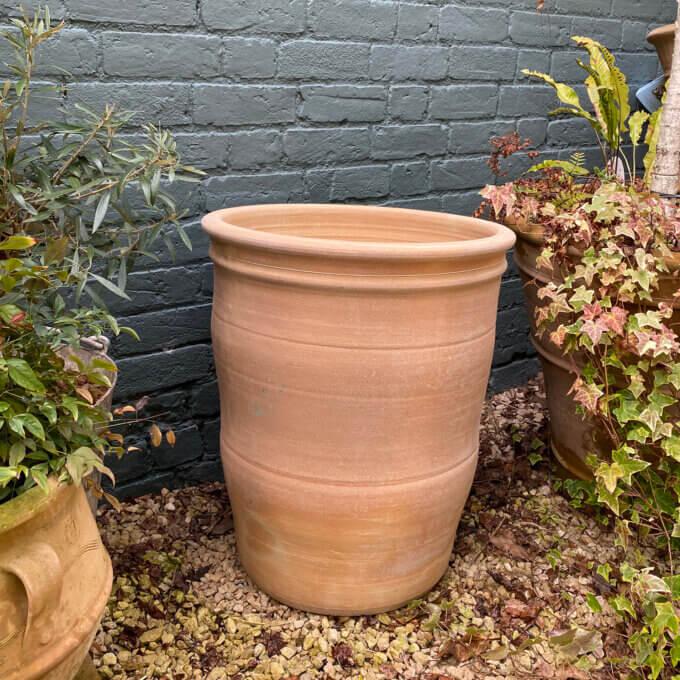 cretan outdoor garden pot
