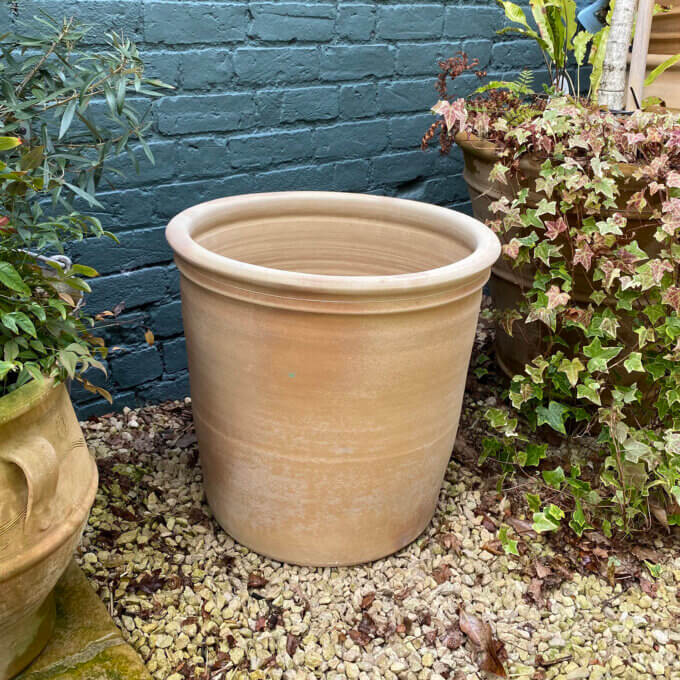 cretan garden pot