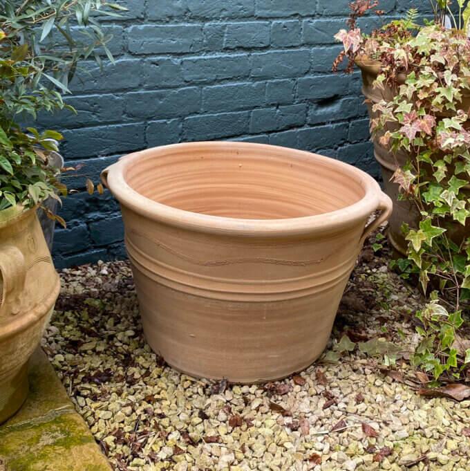 Cretan outdoor pot