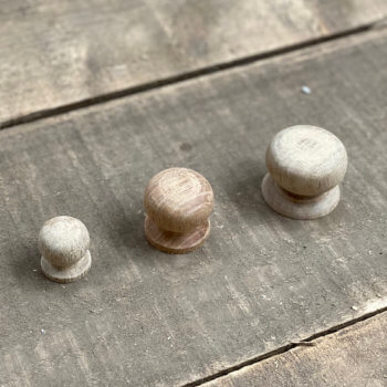 wooden knob